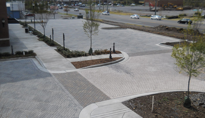 Green Stormwater Infrastructure Using PICP from Belgard Commercial
