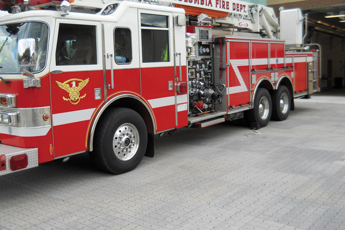 Pavers Designed to Meet H-20/HS-20 Loading & Fire Truck Loading