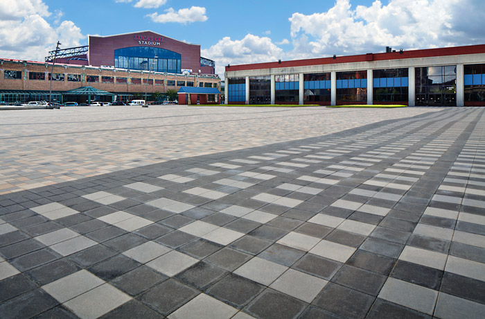 Adding Colors, Textures & Borders to Commercial Concrete Pavers
