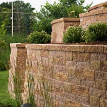 Versa-Lock Mosaic Weathered Segmental Retaining Wall Preview