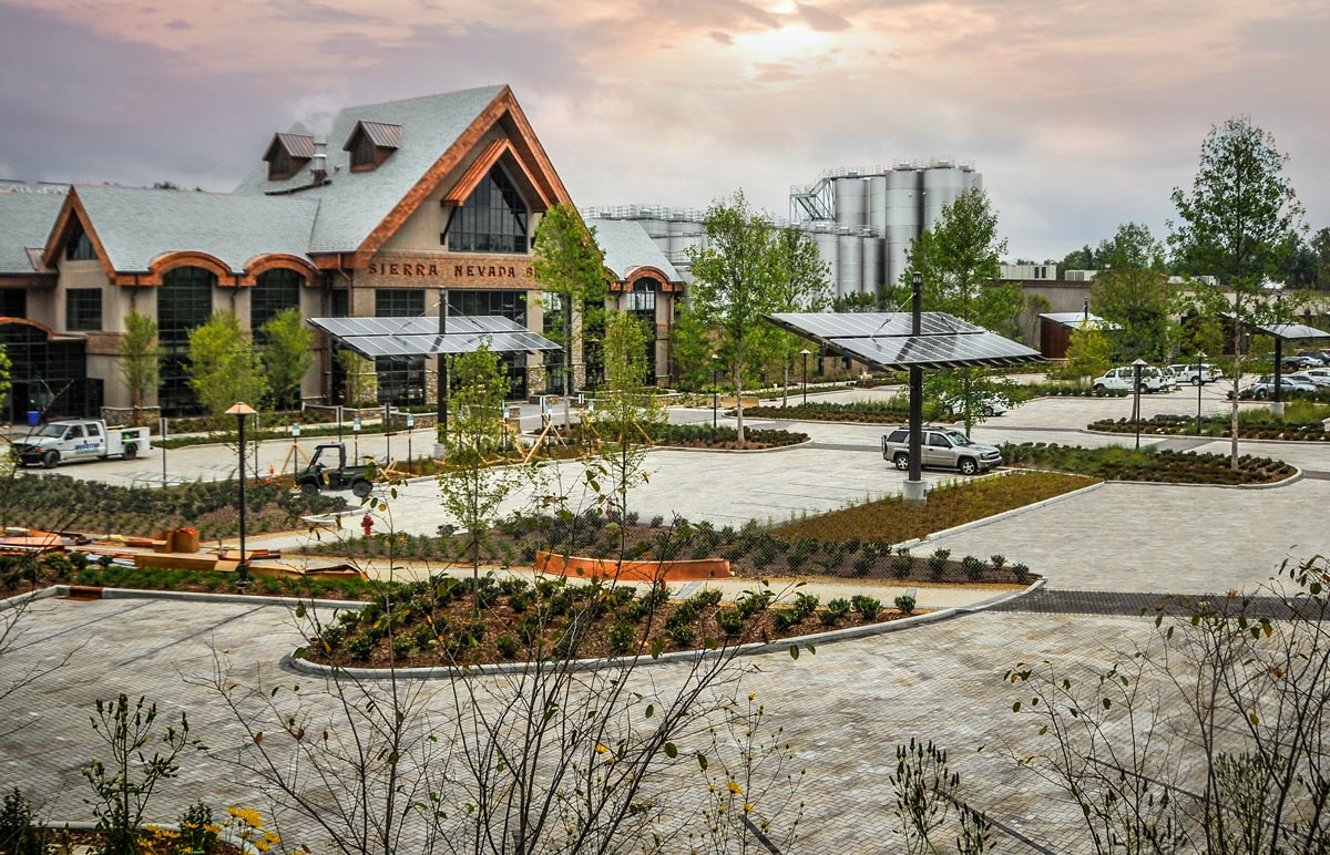 Landscape Supply Co >> Belgard Commercial: Sierra Nevada Brewing Co. Case Study