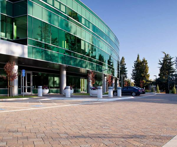 Urbana Paver Hardscape Facility & Business Parking