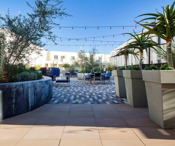 Brown, Tan & Charcoal Moduline Pavers for Patios