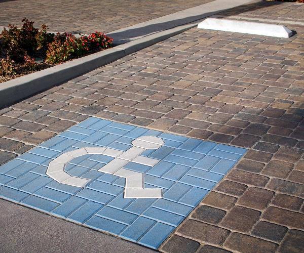 Cambridge Cobble & Holland Stone Parking