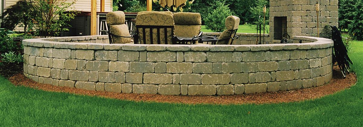 Keystone Stonegate Retaining Wall From Belgard Commercial